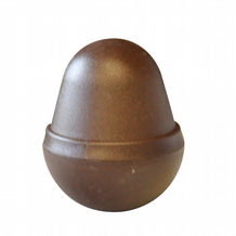 Classic Brown Eco Plastic Acorn Post Cap